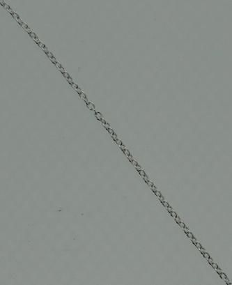 .925 Sterling Silver Cable .9 mm Chain 18 Italy