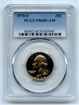 1970 S 25C Washington Quarter PCGS PR68CAM