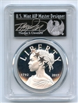 2017 P American Liberty Silver Medal PCGS PR70DCAM First Day of Issue Thomas Cleveland