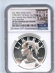 2017 P Silver American Liberty Medal NGC PF69 Reverse Proof Early Releases