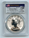 2017 P Silver American Liberty Medal Reverse Proof PCGS PR69 First Strike
