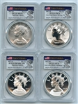 2017 Silver American Liberty 4 Coin Set PCGS 70 First Strike