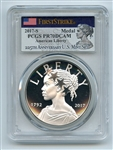 2017 S Silver American Liberty Medal Proof PCGS PR70DCAM First Strike
