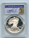 1987 S $1 Proof American Silver Eagle 1oz PCGS PR69DCAM Thomas Cleveland Native