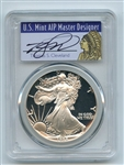 1988 S $1 Proof American Silver Eagle 1oz PCGS PR69DCAM Thomas Cleveland Native