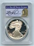 1992 S $1 Proof American Silver Eagle 1oz PCGS PR69DCAM Thomas Cleveland Native