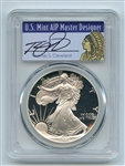 1995 P $1 Proof American Silver Eagle 1oz PCGS PR69DCAM Thomas Cleveland Native