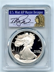1986 S $1 Proof American Silver Eagle 1oz PCGS PR70DCAM Thomas Cleveland Native