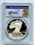 1987 S $1 Proof American Silver Eagle 1oz PCGS PR70DCAM Thomas Cleveland Native