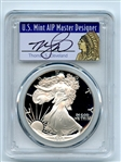 1988 S $1 Proof American Silver Eagle 1oz PCGS PR70DCAM Thomas Cleveland Native