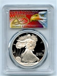 1986 S $1 Proof American Silver Eagle 1oz PCGS PR69DCAM Thomas Cleveland Eagle
