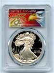 1988 S $1 Proof American Silver Eagle 1oz PCGS PR69DCAM Thomas Cleveland Eagle