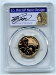 2018 S $1 Sacagawea Dollar Reverse Proof PCGS PR69 First Strike Thomas Cleveland