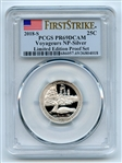 2018 S 25C Silver Voyageurs Quarter PCGS PR69DCAM First Strike Limited Edition