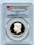 2018 S 50C Silver Kennedy Half Dollar PCGS PR69DCAM First Strike Limited Edition