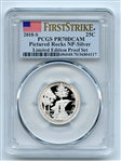 2018 S 25C Silver Pictured Rocks Quarter PCGS PR70DCAM FS Limited Edition