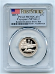 2018 S 25C Silver Voyageurs Quarter PCGS PR70DCAM First Strike Limited Edition