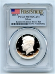 2018 S 50C Silver Kennedy Half Dollar PCGS PR70DCAM First Strike Limited Edition