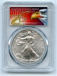 2019 $1 American Silver Eagle 1oz PCGS MS70 FS 1 of 1000 Thomas Cleveland Eagle