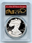 2019 W $1 Proof Silver Eagle PCGS PR70DCAM FS 1 of 500 Thomas Cleveland Arrows