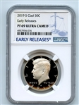 2019 S 50C Kennedy Half Dollar NGC PF69UCAM Early Releases
