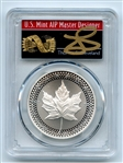 2019 $5 Modified Proof Silver Maple Leaf Pride PCGS PR70 Thomas Cleveland Arrows