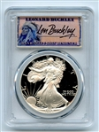 1988 S $1 Proof American Silver Eagle 1oz PCGS PR69DCAM Leonard Buckley