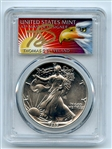 1989 $1 American Silver Eagle Dollar 1oz PCGS MS70 Thomas Cleveland Eagle
