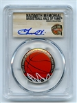 2020 S 50C Colorized Basketball Commemorative PCGS PR70DCAM FDOI Grant Hill