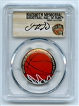 2020 S 50C Colorized Basketball Commemorative PCGS PR70DCAM FDOI Jason Kidd