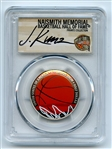 2020 S 50C Colorized Basketball Commemorative PCGS PR70DCAM FDOI Justin Kunz