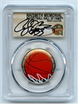 2020 S 50C Colorized Basketball Commemorative PCGS PR70DCAM FDOI Alonzo Mourning