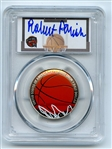 2020 S 50C Colorized Basketball Commemorative PCGS PR70DCAM FDOI Robert Parish