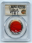 2020 S 50C Colorized Basketball Commemorative PCGS PR70DCAM FDOI David Robinson
