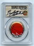 2020 S 50C Colorized Basketball Commemorative PCGS PR70DCAM FDOI Dick Vitale