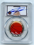 2020 S 50C Colorized Basketball Commemorative PCGS PR70DCAM Dominique Wilkins