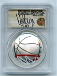 2020 S $1 Colorized Basketball Commemorative PCGS PR70DCAM FDOI David Robinson