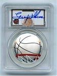 2020 P $1 Colorized Basketball Commemorative PCGS PR70DCAM FDOI Lenny Wilkens