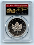 2019 $5 Silver Maple Leaf Modified Pride of 2 Nations PCGS PR70 Cleveland Arrows