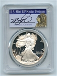 1986 S $1 Proof American Silver Eagle 1oz PCGS PR69DCAM Thomas Cleveland Native