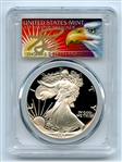 1987 S $1 Proof American Silver Eagle 1oz PCGS PR69DCAM Thomas Cleveland Eagle