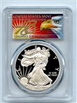 2010 W $1 Proof American Silver Eagle 1oz PCGS PR69DCAM Thomas Cleveland Eagle