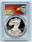 2015 W $1 Proof American Silver Eagle 1oz PCGS PR69DCAM Thomas Cleveland Eagle
