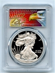 2015 W $1 Proof American Silver Eagle 1oz PCGS PR70DCAM Thomas Cleveland Eagle