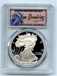 2005 W $1 Proof American Silver Eagle 1oz PCGS PR70DCAM Leonard Buckley