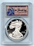 2011 W $1 Proof American Silver Eagle 1oz PCGS PR70DCAM Leonard Buckley
